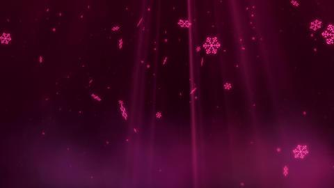 SHA BG Image Snow Pink 動画素材, ムービー映像素材