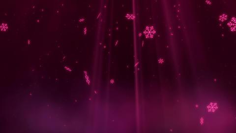 SHA BG Image Snow Pink CG動画