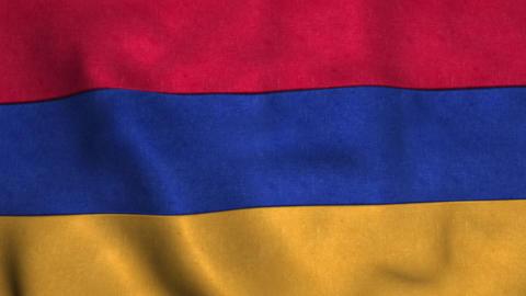 Armenia Flag in FullHD Animation