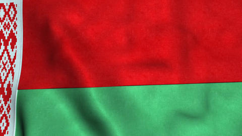 Belarus Flag in FullHD Animation