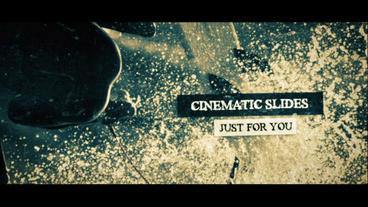 Cinematic Slides After Effects Template