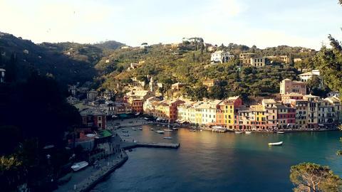 Aerial View of Portofino Italy 画像