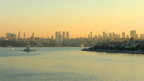 Istanbul at dawn Footage