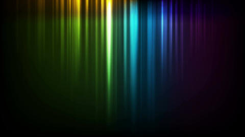 Abstract vibrant rainbow stripes video animation Animation