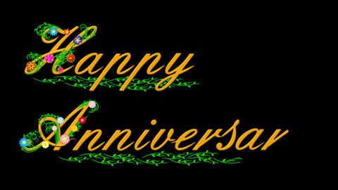 Happy Anniversary Animación