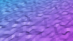Blue abstract geometric rumpled triangular low poly style vector video graphic b Animation