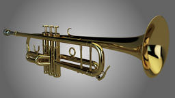 3D Trumpet 3Dモデル