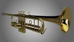 3D Trumpet Modelo 3D
