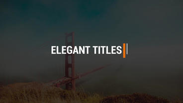 Modern Titles V3 0 Premiere Pro Template