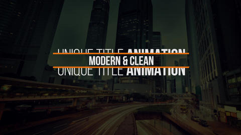 Modern Titles V13 Premiere Pro Template