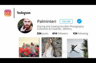 Instagram Promo V1 PR模板
