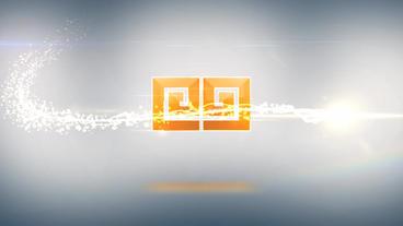 Particle Logo Reveal Plantilla de After Effects