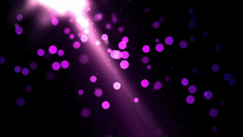 Abstract Particle Background Animation - Loop Violet Animation