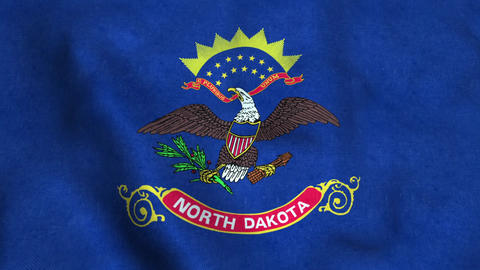 North Dakota State Flag Image