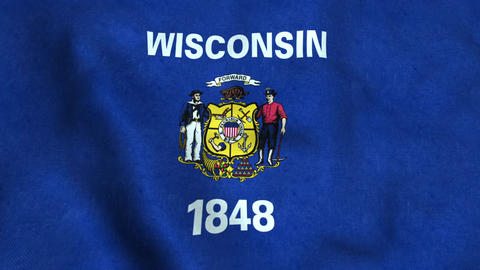 Wisconsin State Flag 画像