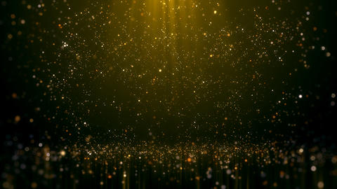 Gold Glittering Bokeh Glamour Abstract Background Photo