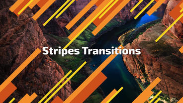 Stripes Transitions Premiere Pro Template