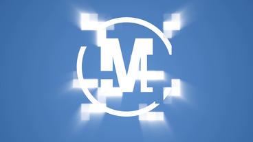 Pixel Logo Premiere Pro Template