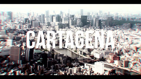 CARTAGENA 4K After Effectsテンプレート