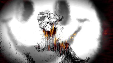 Acid Story Orange 4K Animation