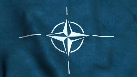 North Atlantic Treaty Organization Flag Animation