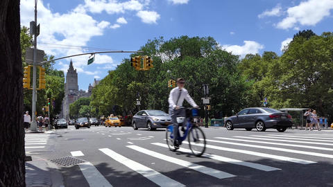 New York Park Avenue Live Action