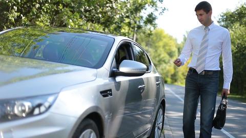 Businessman Driving Car 2