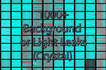 Background and Light Leaks Generator - Cell Pattern -Crystal - Premiere Premiere Pro Template