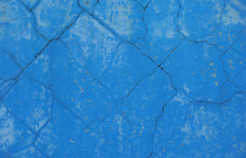 Texture of an old blue concrete Photo