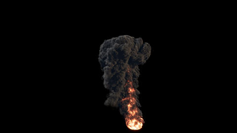 4K Smoke VFX Large Scale 0