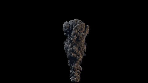 4K Smoke VFX Large Scale 1