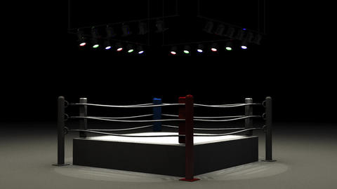 Turn Boxing Ring CG動画