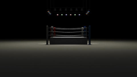 Boxing Ring CG動画