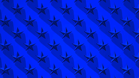 Blue Stars Abstract CG動画