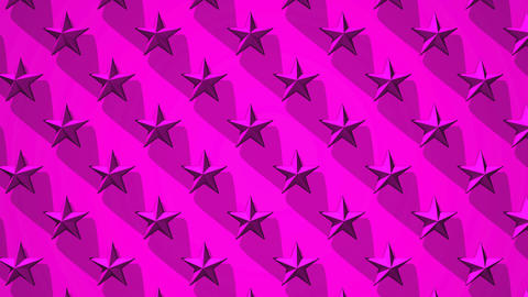 Pink Stars Abstract CG動画