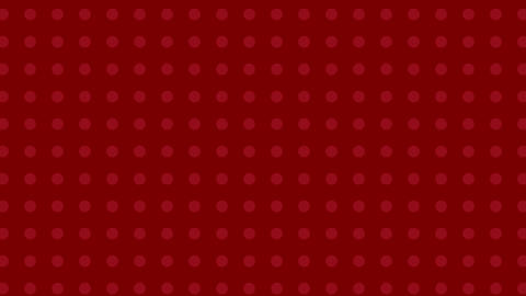 Animated moving red dots background Animation