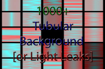 Background and Light Leaks Generator - Cell Pattern -Tubular - AE After Effects Templates