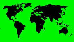 FLOATING WORLD MAP 01 Animation