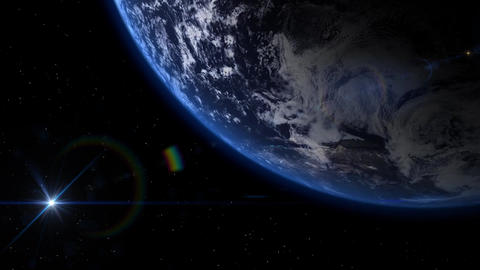Earth 003 CG動画素材