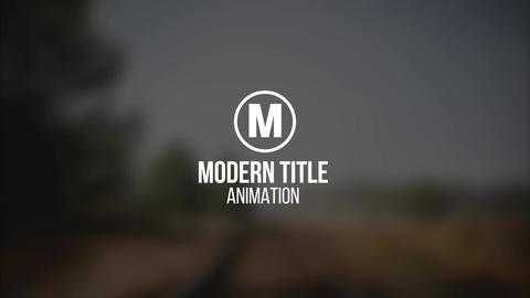 Modern Titles V12 Premiere Pro Template