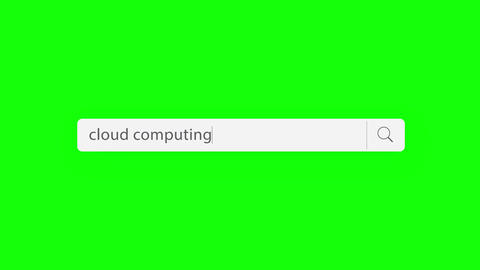 cloud computing - search query Animation