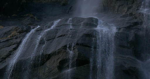 waterfall close up Footage