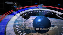 Background for breaking news Footage