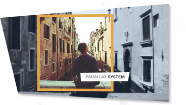 3D Parallax Slideshow After Effects Template