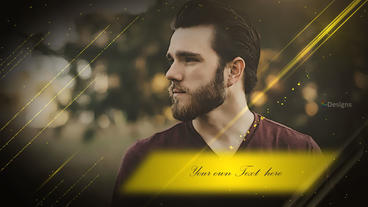 Golden Promo ME Plantilla de After Effects