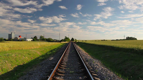 Railway track Image