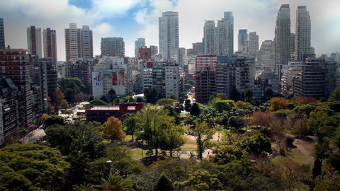 Landscape Of Buenos Aires Footage