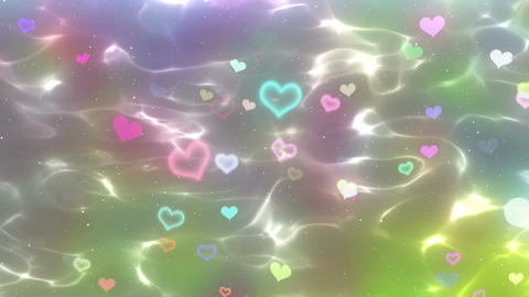 Water surface anim heart bl Animation
