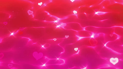 Water surface anim heart bl Animation