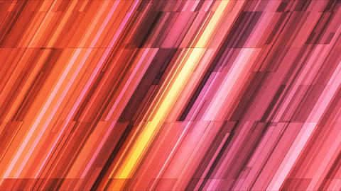 Broadcast Twinkling Slant Hi-Tech Bars, Pink, Abstract, Loopable, 4K Animation